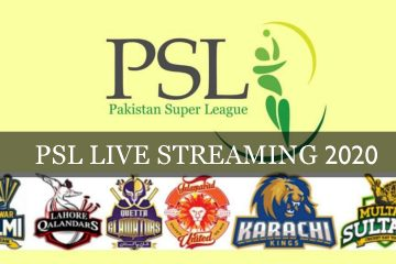 Pakistan Super league Live Streaming 2020